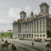 Zeichnung von Schloss Esterházy